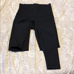 Lululemon size 4 leggings high rise